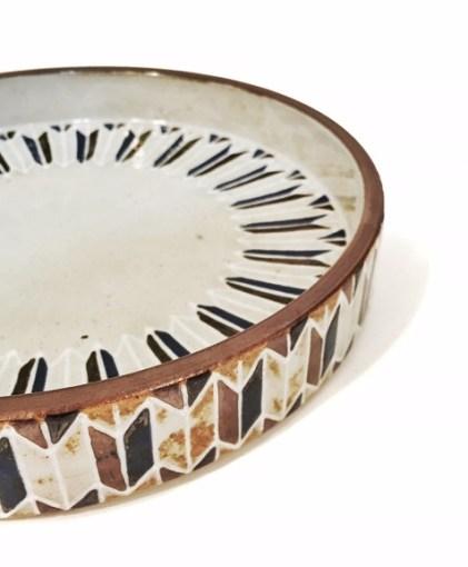 色彩象嵌銅鑼鉢7s