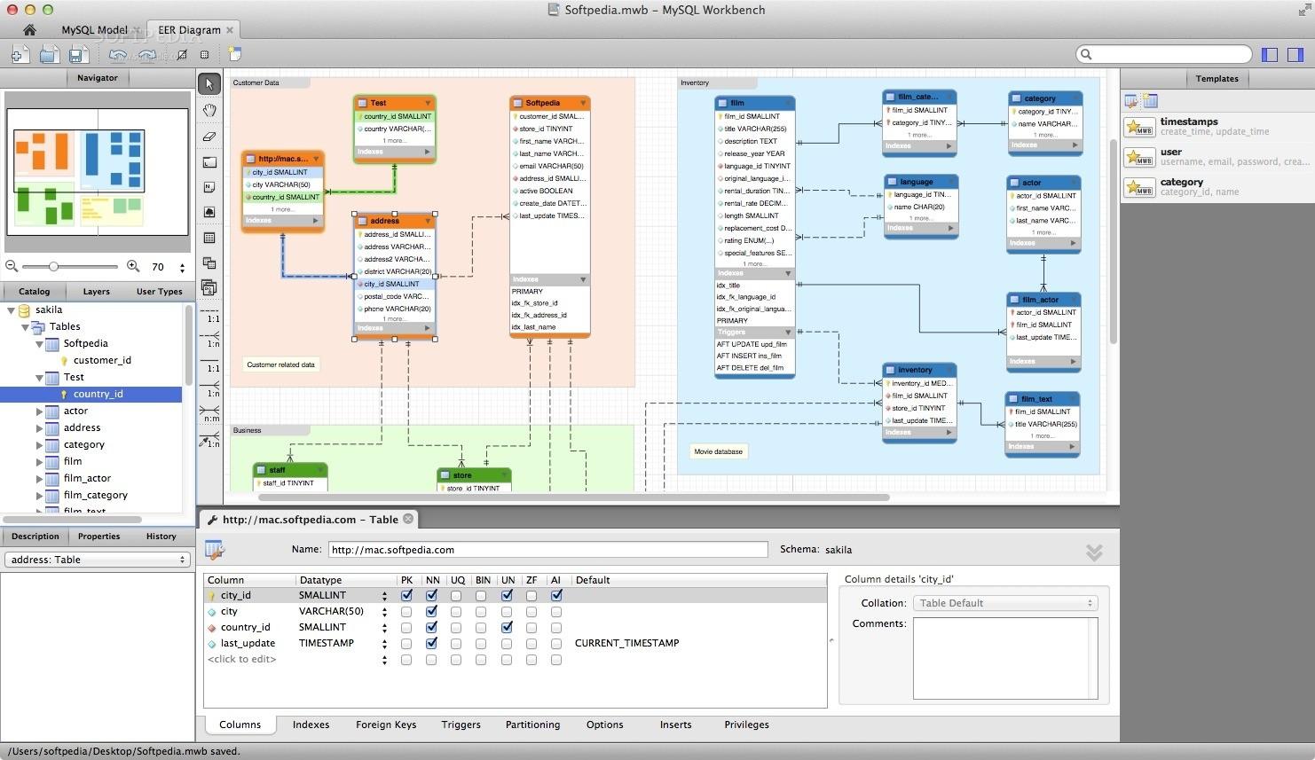 MySQL Workbench Mac 8.0.21 - Download