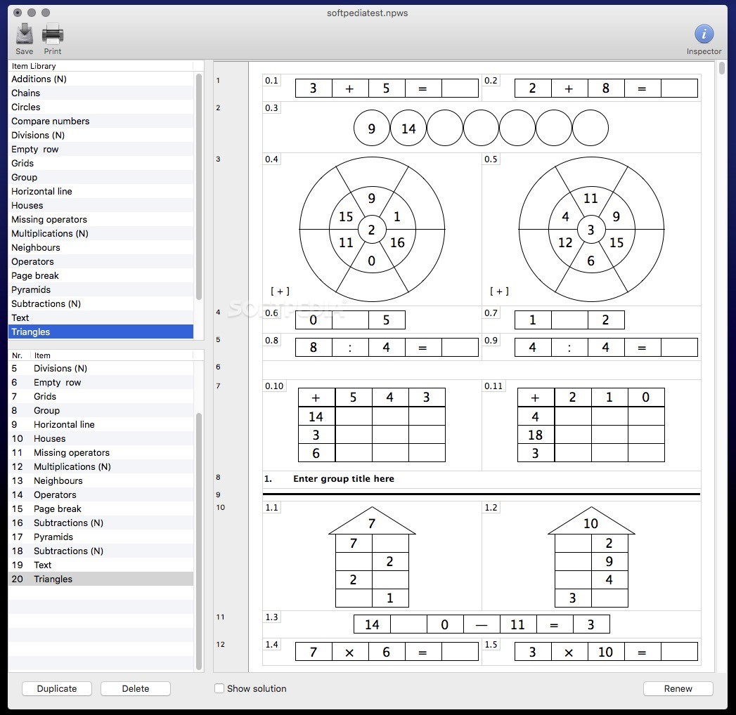 Np Worksheets Mac 2 1 2