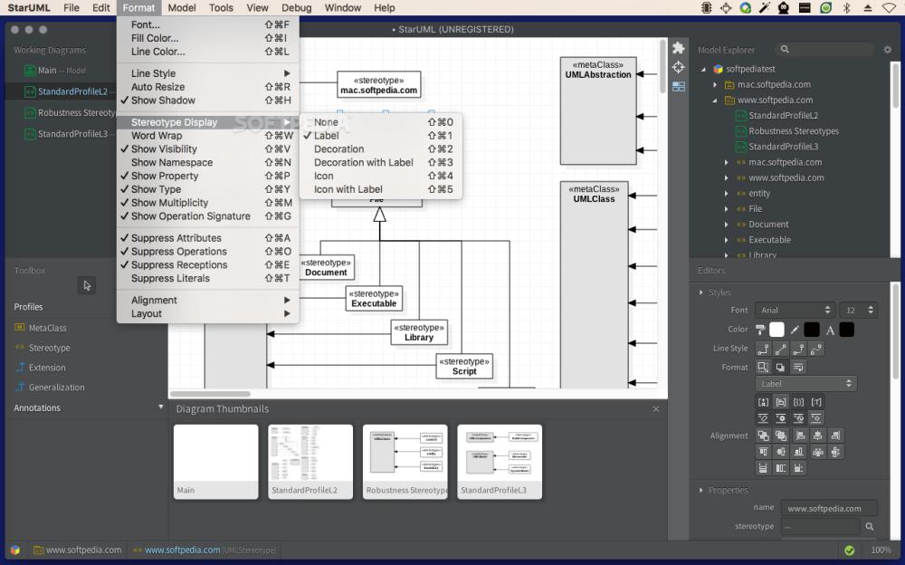 medium resolution of  staruml screenshot 5