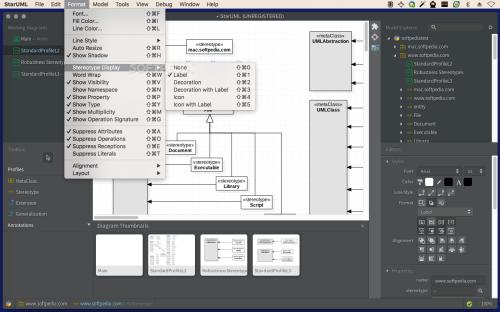 small resolution of  staruml screenshot 5