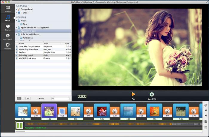 How To Create Wedding DVD Slideshow On Mac