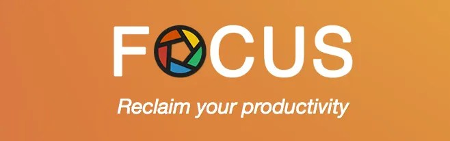 Focus productivity app