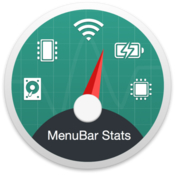 MenuBar Stats System Monitor Memory Clean Battery Health icon