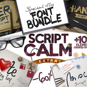 Creativemarket_Font_Bundle_60percent_OFF_340228_icon