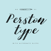 creativemarket_perston_type_347249_icon