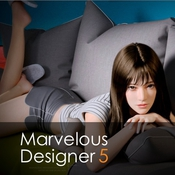Marvelous designer 5 logo icon