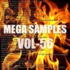 Mega samples vol 56 logo icon