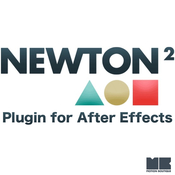 Newton plugin for after effects logo icon