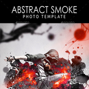 Abstract smoke photo template 11255305 icon