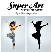 Super art photoshop action 13448455 icon