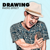 Drawing photo effect 13198824 icon