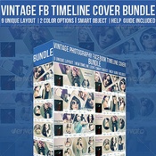 Vintage photography facebook timeline cover bundle 6219693 icon
