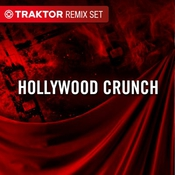 Hollywood crunch remix set for traktor pro icon