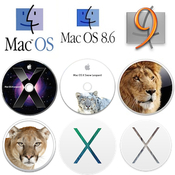 Mac os collection 2008 2015 icon