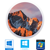 Macos 10 12 sierra dp for windows pc logo icon