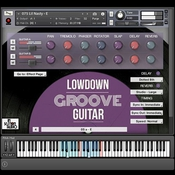 In session audio lowdown groove guitar and direct icon