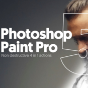 Paint pro 5 photoshop action 836786 icon