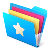 Shortcut bar quickly access files folders icon