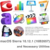 Macos sierra 10 12 1 16В2657 and necessary utilities icon