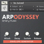 Binary music arp odyssey icon