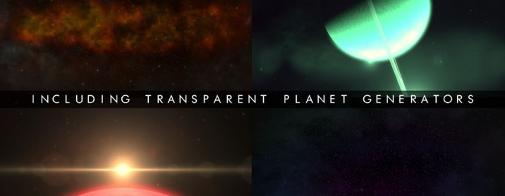Includes Planets & more
