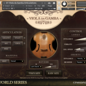 Cinesample viola da gamba icon
