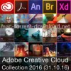 Adobe creative cloud collection 2016 icon