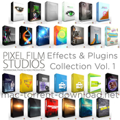 Pixel film studios effects and plugins collection vol 1 for fcpx icon