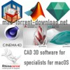 Cad 3d software for specialists for macos icon