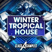 Class a samples winter tropical house icon