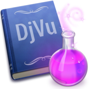Djvureader ex icon