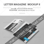 Letter magazine brochure mock up ii 8234615 icon