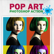 Pop act acciones photoshop icon