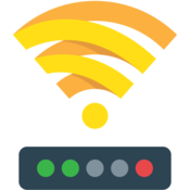 Wifi wireless signal strength explorer icon