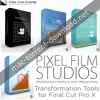 Pixel film studios transformation tools for fcpx icon