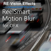Revisionfx reelsmart motion blur for ofx icon
