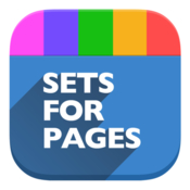 Sets design expert templates for pages icon