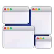 Window manager rapidly move rearrange and resize windows on your mac icon