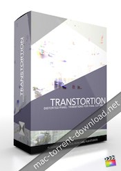 """Pixel Film Studios Transtortion Distorted Panel Transitions in FCPX icon"""" width=""""175"""" height=""""246"""" />"""