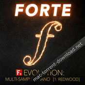F9 audio f9 forte evolution redwood club piano for logic icon