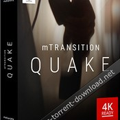 Motionvfxmtransition quake for fcpx icon