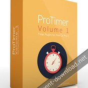 Pixel film studios protimer volume 1 timer plugin for fcpx icon