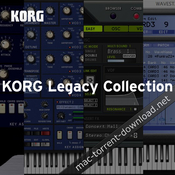 Korg legacy collection special bundle icon