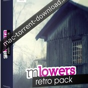 Motionvfx mlowers retro pack icon
