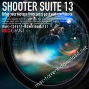 Red giant shooter suite 13 logo icon
