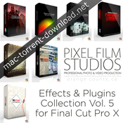 Pixel film studios effects and plugins collection vol 5 for fcpx icon