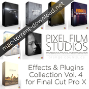 Pixel film studios effects and plugins collection vol 4 for fcpx icon