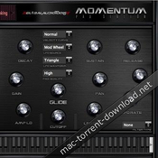 Global audio tools momentum pads icon