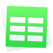 Design for numbers templates icon